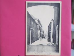 29 - Concarneau - La Ville Close - Rue Vauban Et L'ancienne Caserne - Scans Recto-verso - Concarneau