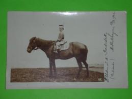 RRR,Wilhelm S.M. Radnitzky,boy,aristocracy,riding A Horse,real Photo,vintage Postcard - Case Reali