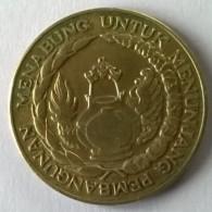 Monnaie - Indonésie - 10 Rupiah 1974 - - Indonesia