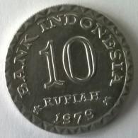 Monnaie - Indonésie - 10 Rupiah 1979 - Superbe +++ - - Indonésie