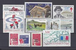 SPM - 1997-98 - N° 655 - 662 - 669 à 675 -  680 - TOUS NEUFS - XX - MNH - TB - - St.Pierre & Miquelon