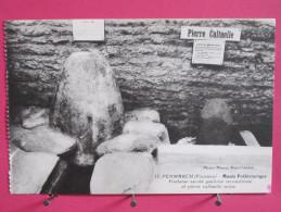 29 - Penmarch - Musée Préhistorique - Fontaine Sacrée Gauloise Reconstituée Et Pierre Cultuelle Noire -Scans Recto-verso - Penmarch
