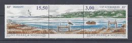 SPM - 1997 -  N° 654 A - TRIPTYQUE AVEC VIGNETTE CENTRALE - XX - MNH - TB - - St.Pierre & Miquelon