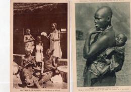 """LOT DE 18 CARTES """"SOUDAN/NIGER - Cartoline"""