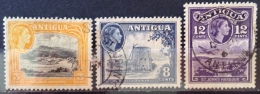 Antigua 1953-1956  (o)   # 110, 114, 115 - 1858-1960 Colonia Britannica