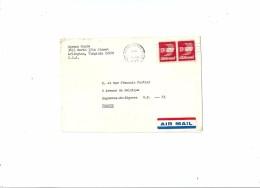 Enveloppe - Expédiée D' Arlington - Virginia ( U.S.A.)  à Destination  De  Bagnères - De - Bigorre  ( P.  Avion        $ - Amérique Centrale
