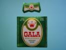 ETIQUETTE BIERE GALA /  TCHAD / MODELE 2 - Bière