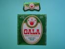 ETIQUETTE BIERE GALA / TCHAD / MODELE 1 - Bière