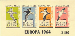 1964 EUROPA ISLE OF PABAY LOCAL MAIL - INTEGRO - Local Issues