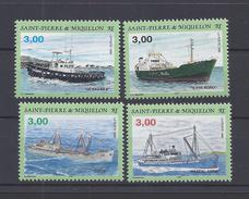 SPM - 1996 - N° 632/635 - XX - MNH - TB - - Neufs