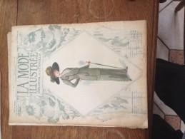 La Mode Illustrée - Journal De La Famille - Septembre 1912 - Reliure Abimée - Un Patron à L'intérieur - Directrice Aline - Mode