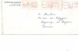 Enveloppes -    Expédiée  Des   ETATS - UNIS     à   Destination  De  Bagnères - De - Bigorre  ( 65 )      $ - Amérique Centrale