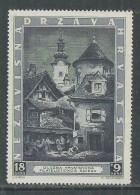 Croatie N° 104 XX Exposition Philatélique De Zagreb, Sans Charnière, TB - Kroatien