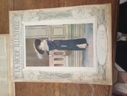 La Mode Illustrée - Journal De La Famille - 8 Septembre1912 -N°36  - Directrice Aline Raymond - Fashion
