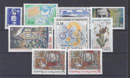 SPM - 1994-95 -  N° 605 à 613 - TOUS NEUFS - XX - MNH - TB - - Neufs