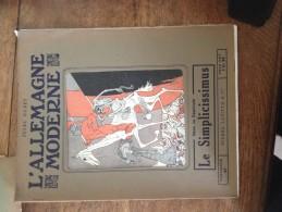 """Revue - L´Allemagne Moderne - Jules Huret - Dans Ce Facicule """"Le Simplicissimus"""" - Livres, BD, Revues"""