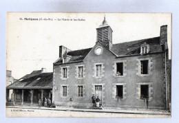 MATIGNON - 22 - Côtes D'Armor - La Mairie Et Les Halles - Otros Municipios