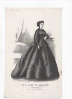 Gravure De Mode Rigolet N°3 Jupe Et Jaquette 1866 Prix Au Dos - Prints & Engravings
