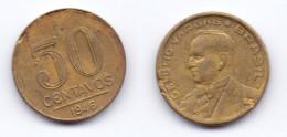 Brazil 50 Centavos 1946 GETULIO VARGAS - Brésil
