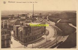 CPA WENDUYNE BOULEVARD LEOPOLD II ET HOTEL DU PARC - Wenduine