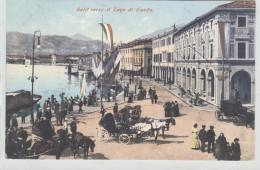 Salò - Lago Di Garda  Rara Bella Animata Viaggiata - Brescia