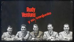 *Rudy Ventura Y Su Conjunto* Meds: 95 X 160 Mms. Dorso Impreso. - Publicidad