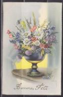 """= Carte Postale Un Bouquet De Fleurs Pour Une """"Bonne Fête"""" - Autres"""