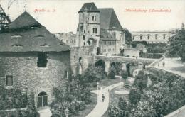 DE HALLE / Saalepartie Mit Bergschenke / - Allemagne