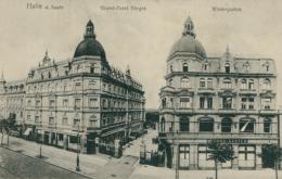 DE HALLE / Grand-Hôtel, Wintergarten / - Germany