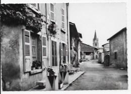 CPSM 01 Saint Maurice De Remens,photo Véritable - Otros Municipios