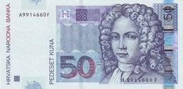 CROATIA 50 KUNA 2002 P-40 UNC [ HR504a ] - Croatia