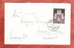 Brief, EF UNO, Zell Nach Marburg 1956 (45749) - 1945-60 Lettres