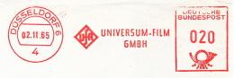 Freistempel 3555 Unviersal Film UFA - Affrancature Meccaniche Rosse (EMA)