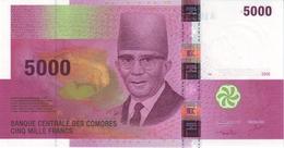 COMOROS 5000 FRANCS 2006 P-18 UNC [ KM309a ] - Comoros