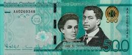 DOMINICAN REPUBLIC 500 PESOS DOMINICANOS 2014 P-191 UNC [ DO191 ] - Dominicana