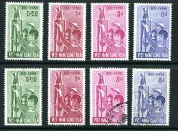 Viêt-Nam Du Sud- Y&T N°206 à 209 Neufs Avec Charnière * Et Oblitérés - Vietnam