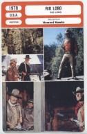 Fiche De Mr Cinéma RIO LOBO - Réalisateur Howard Hawks - USA 1970 - Merchandising