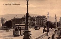 Suisse, Geneve, Le Pont De La Coulouvreniere   (bon Etat) - GE Ginevra