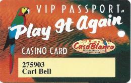 CasaBlanca Casino Mesquite NV Slot Card - 800-459-7529 Phone# - Casino Cards