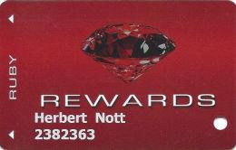 CasaBlanca & Virgin River Casinos - Mesquite NV - Slot Card - Casino Cards