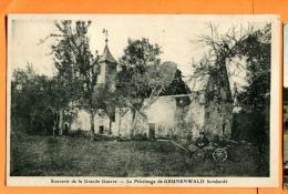 FAS-10  Friesen Pélerinage De Notre Dame De Grünenwald Bombardé. Circulé En 1928 Vers La Suisse Avec Une Surtaxe Suisse - France