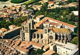 34 - Montpellier : La Cathédrale Et La Faculté De Médecine - Photo Aérienne A.Perceval - Montpellier