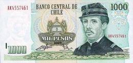 CHILE 1000 PESOS 2009 P-154g UNC [ CL154g ] - Chile