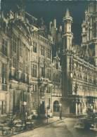 CPM - BRUXELLES - Illuminations, Grand'Place - Bruxelles La Nuit