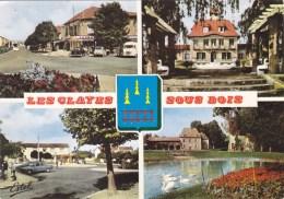 LES CLAYES SOUS BOIS MULTIVUES AVENUE MAURICE JOUET MAIRIE PLACE DE LA GARE VESTIGES DU CHATEAU 78 - Les Clayes Sous Bois