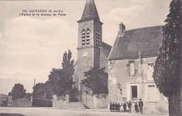 AUFFARGIS EGLISE BUREAU DE POSTE 78 - Auffargis