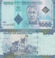 Tanzania P-41, 1000 Shilingi, President Julius Nyerere / State House 2010, UNC - Tanzania