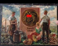 1926 - AK Propagandakarte 1934 1 Mai Tag Der Arbeit Ungel. - Weltkrieg 1939-45