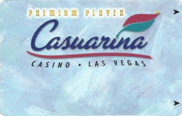 Casuarina Casino Las Vegas, NV Slot Card - ACC In Bottom Left Corner On Reverse  (BLANK) - Casino Cards