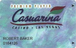 Casuarina Casino Las Vegas, NV Slot Card - Circle-I (I) Bottom Right Corner On Reverse - Casino Cards